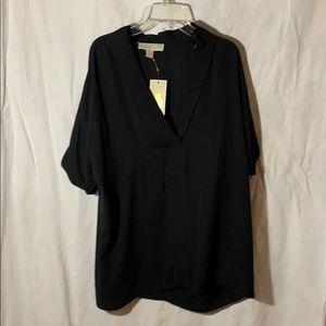 Black loose blouse